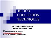 blood collection ppt drppasupathi