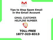 Tips to Stop Spam Email in the Gmail Account | 1877-323-8313