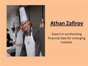 Athan Zafirov | Analyzing the future income and expense of the company