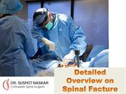 Detailed Overview on Spinal Facture