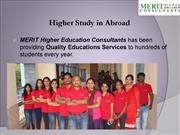 Higher Study in Abroad