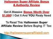 Halloween Super Affiliate
