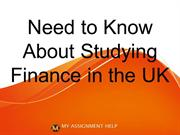 Everything you need to know about studying Finance in the UK