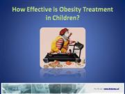How Effective is Obesity Treatment in Ch
