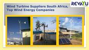 Wind Turbine Companies In South Africa, Wind Turbine Suppliers