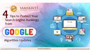 Tips to Protect Search Engine Rankings from Google Algorithm Updates