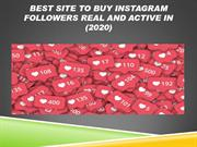 Buy instagram followers  100% real and active