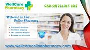 Buy Xanax For Anxiety Online at Wall Care Online Pharmacy
