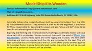 Short Story The Truth about MODEL SHIP KITS WOODEN