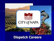 City of Napa Call Taker Orientation