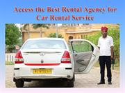 Access the Best Rental Agency for Car Rental Service