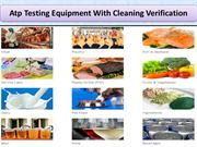 Atp Testing Equipment With Cleaning Verification