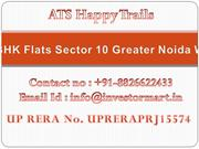 ATS Happy Trails 2 BHK 3 BHK Apartments Greater Noida West