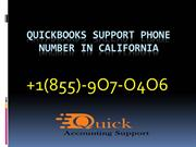 QuickBooks Support Phone Number California 1-855-6OO-4O6O