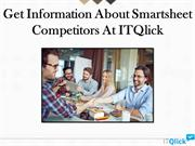 Get Information About Smartsheet Competitors At ITQlick