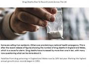 Drug Deaths Rise To Record Levels Across The UK