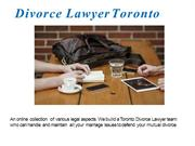 Child Custody Lawyers Toronto - Top Family Lawyer in Toronto
