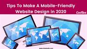 Tips To Make A Mobile-Friendly Website Design in 2020