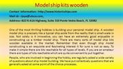 MODEL SHIP KITS WOODEN An Incredibly Easy Method That Works For All