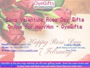 Send Valentine Rose Day Gifts Online for Her or Him - OyeGifts