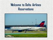 Delta Airlines Reservations – Cheap Delta Airlines Reservations