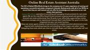 Online Real Estate Assistant Australia