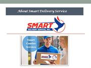 Set your own milestones with courier service Dallas ppt
