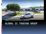 Global IC Trading Group- Electronics Supplier