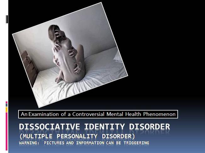 Reflections on multiple personality disorder a view from the inquiries journal a short essay on hiv aids research