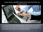 Laurie Suarez and RB Global Advice You Need If You Are Going To Invest