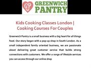 Cooking Courses for Couples in London | Kids Cooking Classes