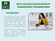 Best colleges for hospitality management Bhubaneswar