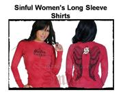 Sinful Women's Long Sleeve Shirts
