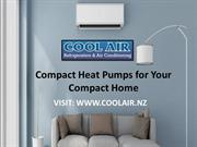 Compact Heat Pumps for Your Compact Home