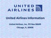 United Airlines - United Airlines Reservations | Farecopy.com