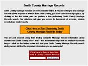 Smith County Marriage Records