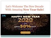 Let's Welcome The New Decade With Amazing New Year Sale!