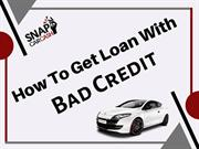 How to get car title loan with bad credit ?