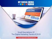Small Descriptions Of The Digital Marketing Trends of 2019