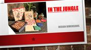 IN THE JUNGLE - Box Weddings Card