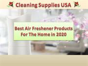 New Air Freshener Cleaning Products at Cleaning Supplies USA