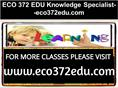 ECO 372 EDU Knowledge Specialist--eco372edu.com