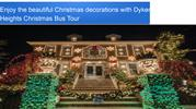 Enjoy the beautiful Christmas decorations with Dyker Heights Christmas