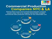 Commercial Production Companies Los Angeles