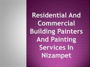 Residential And Commercial Building Painters And Painting Services In