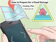How to Prepare for Flood Damage