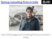 Looking the best Startup consulting firms in India