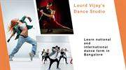 Join the top dance school in Bangalore - Lourd's Vijay dance studio