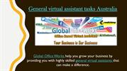 General virtual assistant tasks Australia-converted