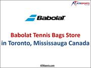 Leading Babolat Tennis Bags Store in Toronto, Mississauga Canada